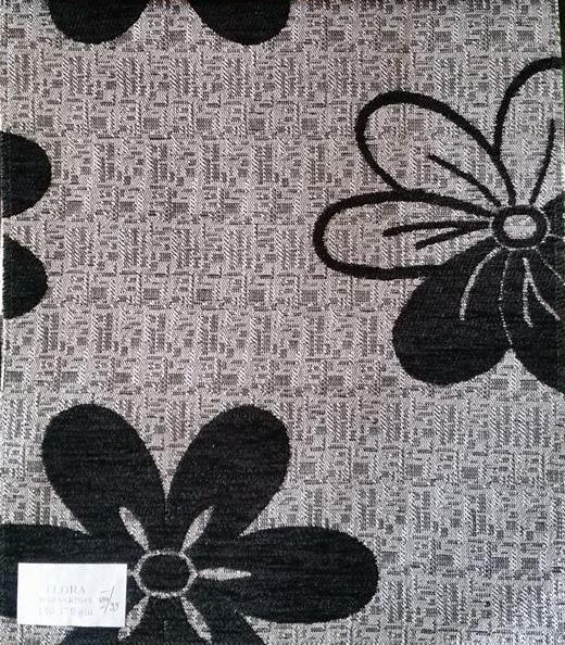 gri flori negre
